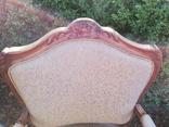 Крісло з красивою різьбою, Європа, фото №6
