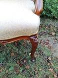 Крісло з красивою різьбою, Європа, фото №7