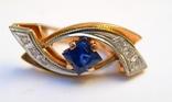 Набор кольцо и серьги 585 проба. Украина 8,7 гр., фото №7