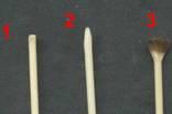 """Кисточки Ф2 ст/волоконные L200 """"под обжиг"""" 10+2, фото №3"""