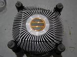 Вентилятор от компа на радиаторе., фото №4