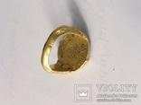 Перстень 11-13 век, золото ,камень, фото №3