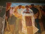 Праздник  Урожая,  автор А. Довженко  120 на 160 см, фото №3