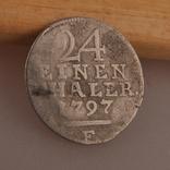 1/24 Талер 1797 г., фото №3