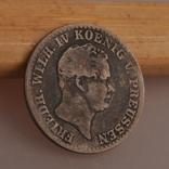 Пруссия 2 1/2 гроша - 2 1/2 Silber groschen 1843 A, фото №2