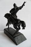 Чугунная статуэтка Салават Юлаев, фото №6