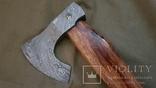 Топор из дамасской стали, фото №5