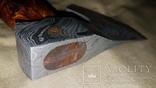 Топор из дамасской стали, фото №6