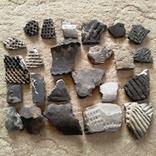 Осколки горшка ямной культуры. Энеолитическая керамика., фото №4