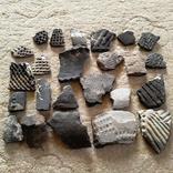 Осколки горшка ямной культуры. Энеолитическая керамика., фото №2