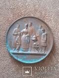 """Медаль """"Чудесное спасение Александра III"""", фото №6"""