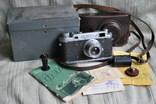 ФЭД-2 квадратное окно дальномера, № 004059, комплект., фото №2