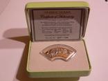 Год Змеи - серебро, 1 доллар, Острова Кука, фото №2