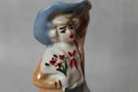 Старая статуэтка Кавалер в шляпе, фото №7