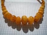 Натуральные янтарные бусы 40 грамм, фото №9