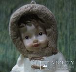 77. Ёлочная игрушка ,Девочка с белкой, 20-30-е гг ХХ в., Германия., фото №9