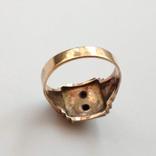 Масонское золотое кольцо, фото №7