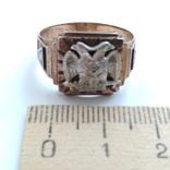 Масонское золотое кольцо, фото №9
