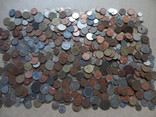 Супер- Гора монет с нашими и зарубежными (681 штук.)