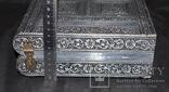 Большая шкатулка для ювелирных изделий. Старая Индия., фото №6