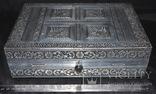 Большая шкатулка для ювелирных изделий. Старая Индия., фото №7