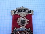 Орден рыцарей храма командорство г. Детроит №1 Начало ХХ века, фото №4