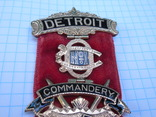 Орден рыцарей храма командорство г. Детроит №1 Начало ХХ века, фото №5