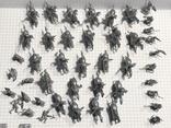 Европейская армия 44 шт, фото №4