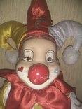Кукла АРЛЕКИН 50см, фото №7