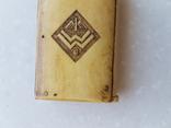Спичечница Старая Германия с кости, фото №4