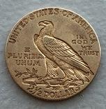 2,5 $ 1915 год США золото 4,16 грамм 900', фото №3