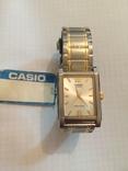 Лот 0039 Новые женские часы Casio (оригинал) MTP-1235SG-7ADF DI, фото №2