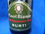 Vino Spumante Brut PINOT BIANCO BURTI 0.75L 11.5gr фото 3