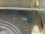 Большая солонка (трон, стул) с надписью: Без соли  без хлеба половина обеда, фото №11