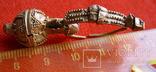 Золотая сережка, Хазарський каганат, Салтівська культура, вес 5.5 грм., фото №3