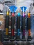 Универсальные отвертки M-5228 7 в 1 для ремонта современных электронных гаджетов, фото №3