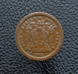 ЮАР 2 цента 1990, фото №3