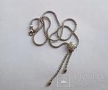 Золотое колье с бриллиантами, фото №5