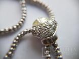 Золотое колье с бриллиантами, фото №8
