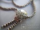 Золотое колье с бриллиантами, фото №9