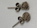 Серебряные серьги с англии, фото №2
