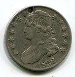 США 50 центов 1832 г, фото №2