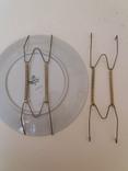 Крепления для настенных тарелок 2шт. 16-34см, фото №2