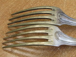 """Дві виделки з ініціаліми HN Christofle Франція 1844-1862 """"91"""", вага двух 129 грм., фото №7"""
