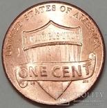 США 1 цент, 2016