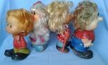Игрушки резиновые 4 шт одним лотом, фото №7