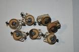 Подстроечные конденсаторы 7 шт, фото №3