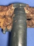 Клевец биметаллический с элементами декора в зверином стиле., фото №7