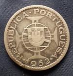 20 эскудо Португальская Гвинея 1952г. серебро 10гр., фото №3