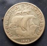 10 эскудо Португалия 1954г. серебро 12,2гр., фото №2